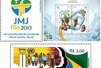 Correios lançam selos contra a discriminação racial