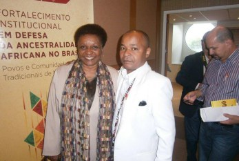 Ministra de Estado Chefe da Igualdade Racial, Luiza Bairros confirma presença no ILABANTU/Nzo Tumbansi
