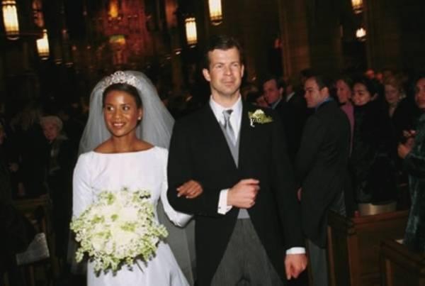 And Prince Princess Angela Liechtenstein Maximilian Brown