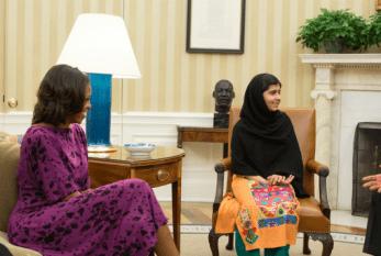 Sem o Nobel, Malala é Recebida Pelo Casal Obama