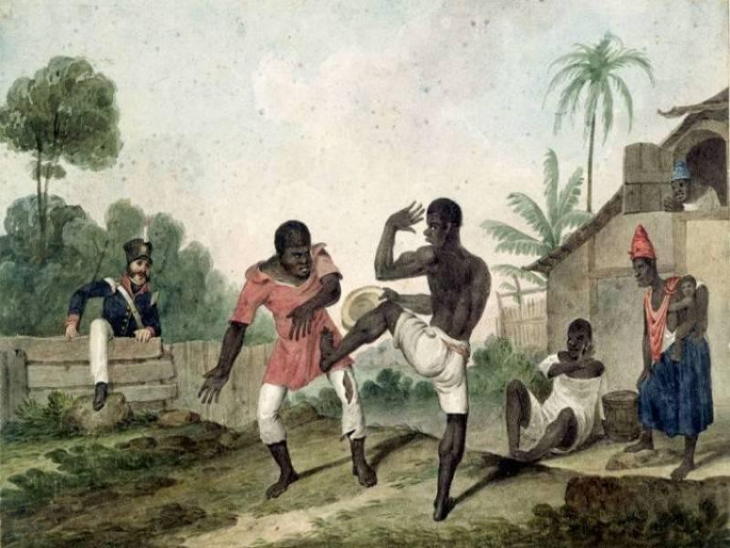Prática  de Capoeira
