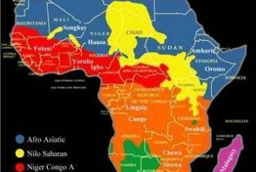Mapas de etnias/nações e países no continente africano