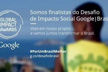 Somos finalistas do Desafio de Impacto Social Google I Brasil