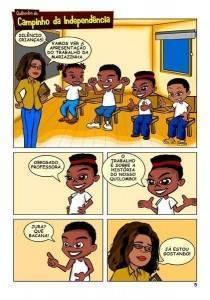 Plano de aula: Gibi Quilombo