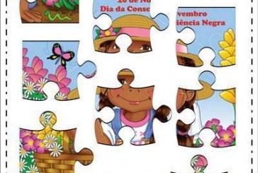 Plano de aula: Quebra cabeça Dia da Consciência Negra