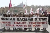 Harlem Désir Manifestação contra o racismo em França