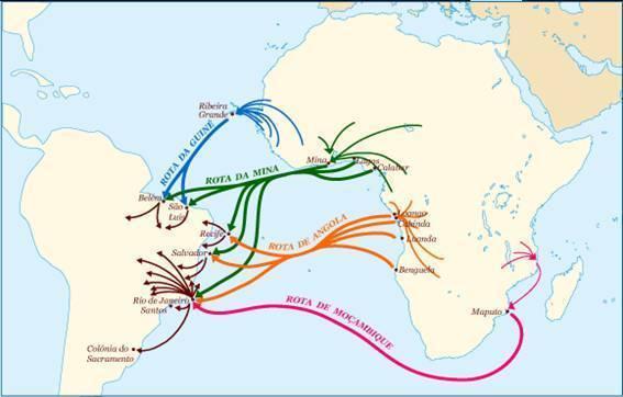 Rotas da Escravidão