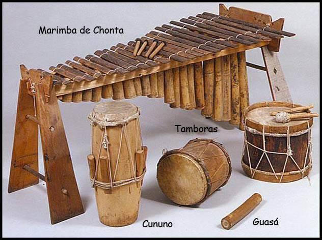 Instrumentos afro