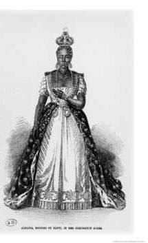 Adelina Soulouque (bc 1795), nascida em Lévêque, foi Imperatriz Consorte do Haiti a partir de 1849 até 1859, como a esposa de Faustin I do Haiti.
