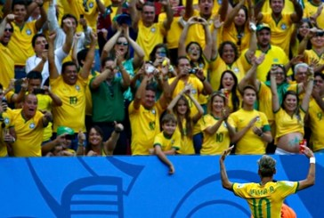 The lack of black faces in the crowds shows Brazil is no true rainbow nation