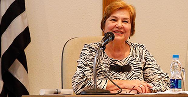Desembargadora do TJSP e coordenadora da Comesp, Angélica de Maria Mello de Almeida