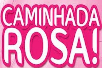 Caminhada Rosa marca dia mundial de combate ao câncer de mama