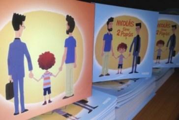 Escolas chilenas terão livro sobre família de casais homossexuais