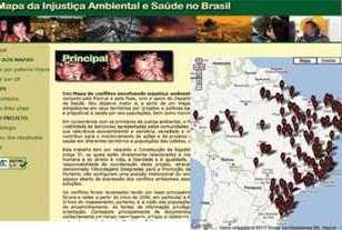 Mapa de Conflitos envolvendo injustiças ambientais no Brasil está disponível na Internet