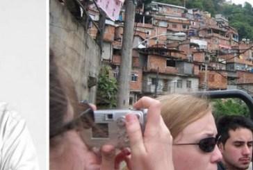 Mirisola critica turismo predatório em favelas