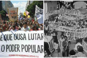 Um paralelo entre as manifestações de 1960 e os movimentos atuais, por Assis Ribeiro