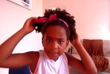 Em vídeo, menina de 8 anos combate preconceito sobre seu cabelo