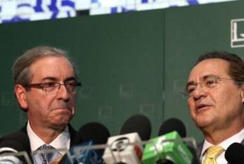 Renan e Eduardo Cunha foram avisados de que estão na lista de políticos da Lava-Jato