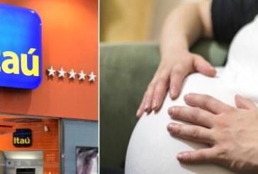 Itaú é processado por impedir funcionária de deixar agência após sofrer aborto espontâneo