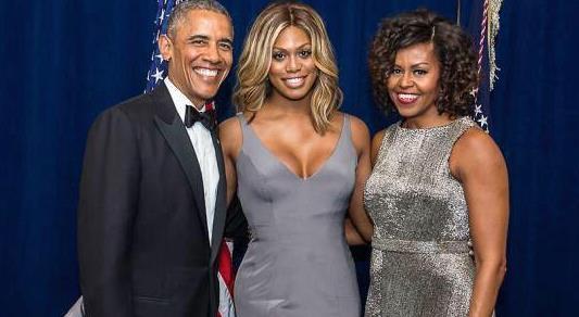 Obama-Laverne Cox
