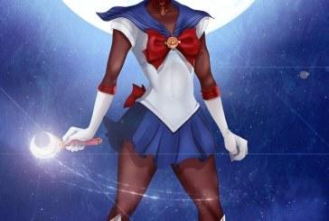 Sailor Moon negra