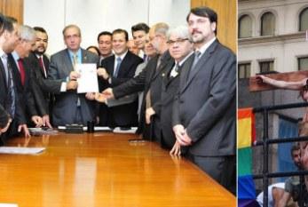 Bancadas religiosas que rejeitam criminalizar a homofobia preparam avanço do Estatuto da Liberdade Religiosa
