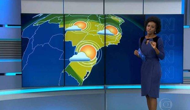 Majú foi vítima de racismo nas redes sociais. (Foto: Reprodução/TV Globo)