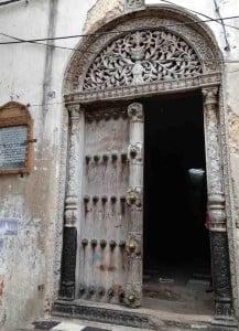 Fachada da residência que pertenceu a Tippu Tip, em Zanzibar.