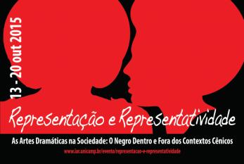 Evento: Representação e Representatividade – O Negro Dentro e Fora dos Contextos Cênicos