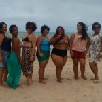 'Vai ter gorda na praia sim': ato em Maceió questiona padrões de beleza