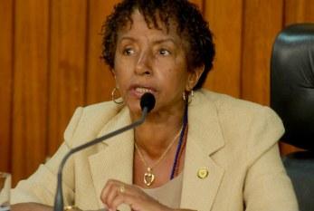 Deputada Leci Brandão busca aprofundar o tema da igualdade racial