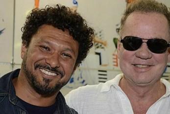 Aos 65 anos, Luiz Fernando Guimarães assume casamento com Adriano