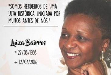 Manifestações de carinho e pesar por Luiza Bairros