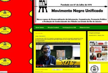 Movimento negro unificado – Gama: presente!