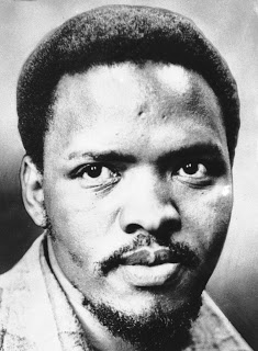 South African black activist Steve Biko is seen in 1978. (AP Photo)