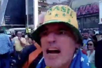 """""""Eu sou machista, sim! Vagabunda!"""": homem em protesto do MLB ataca mulher da Marcha da Consciência Negra em SP"""