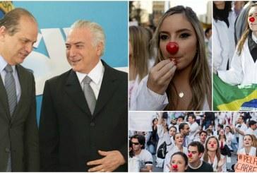 Governo Temer corta benefícios e punirá brasileiros que não ficarem três anos no Mais Médicos