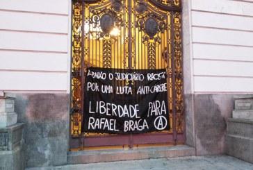 Mobilização pela liberdade de Rafael Braga ganha seis países além do Brasil