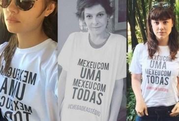 Atrizes da TV Globo fazem campanha contra assédio sexual