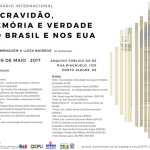 Seminário Luiza Bairros: Escravidão, Memória e Verdade no Brasil e nos Estados Unidos tem apoio da OAB/RS