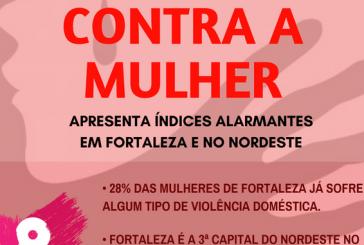 Violência contra a mulher apresenta níveis alarmantes em Fortaleza e no Nordeste