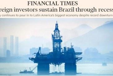 """Comprem o Brasil"", diz Financial Times, ""está barato"""