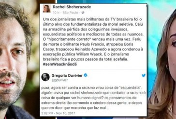 Duvivier sobre Sheherazade defender Waack: cérebro corroído