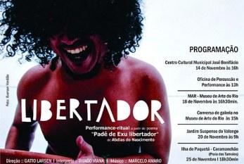 No mês da Consciência Negra, performance homenageia Abdias Nascimento