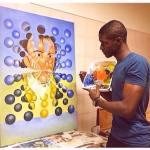 Pintor angolano expôs no Louvre