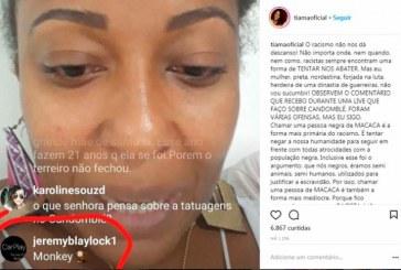 Tia Má é alvo de racismo nas redes sociais; MP-BA vai apurar o caso