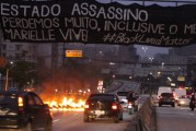 Movimento negro fecha Radial Leste (SP) por Marielle Franco
