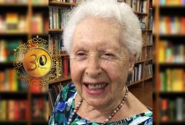 """#Geledés30anos – Clara Charf: """"Muitas mulheres jovens e velhas estão fazendo coisas pelos caminhos abertos pelo Geledés"""""""