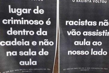 Acusado de racismo é alvo de protesto em retorno às aulas na FGV