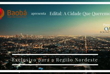 Edital: A Cidade Que Queremos